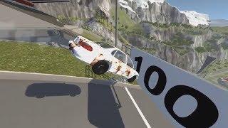 машины разбиваются. Подборка аварий из игры BeamNG.Drive. Бессмысленные разрушения 2017