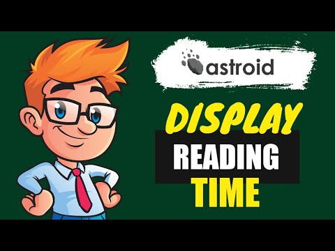How To Display Estimated Reading Time Of #Joomla Articles?