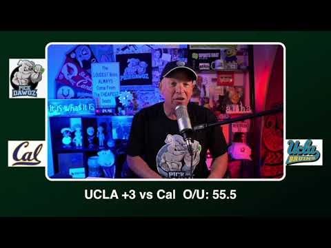 UCLA vs Cal 11/15/20 Free College Football Picks and Predictions CFB Tips   Pick Dawgz