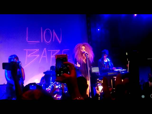 LION BABE - Treat Me Like Fire at SOBS 1.21.15