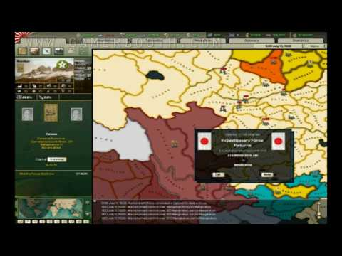 Let's Play Hearts of Iron II -- Part. 12 (Japan) |