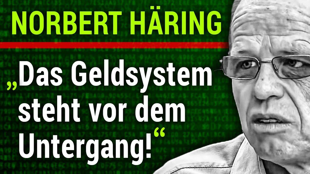 """""""Der Verlust unserer Freiheit ist beschlossen!"""" (Norbert Häring)"""