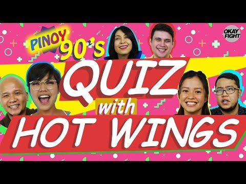 90s QUIZ WITH HOT WINGS