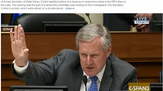 Rep Meadows, NC: OUT OF THE PARK! - GOTCHA FBI HERRING - 9/12/2016 Oversight Hearing Hillary Emails