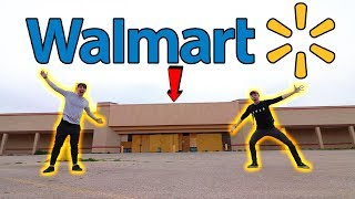 EXPLORING AN ABANDONED WALMART