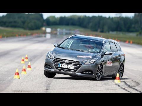 Hyundai i40 Wagon 2015 moose test [Poor result]