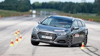 Hyundai i40 Wagon 2015 moose test Poor result