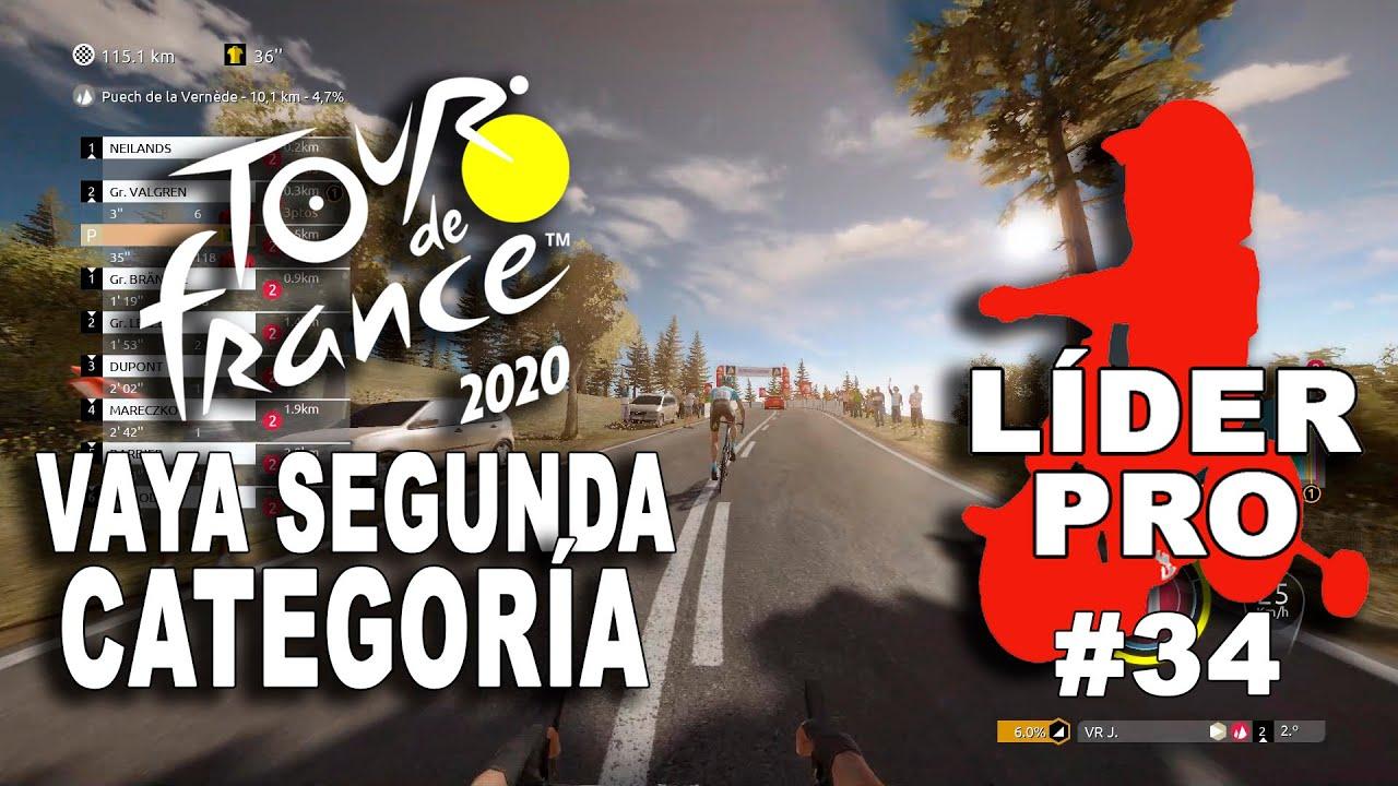 TOUR DE FRANCE 2020 Líder Pro #34 VR_JUEGOS