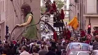 Royal De Luxe preview -  Limerick City of Culture 2014