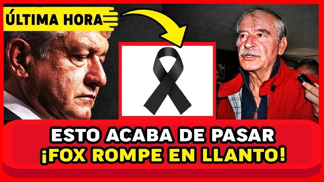 TRISTE NOTICIA FOX! ESTO LE ACABA DE PASAR EN SU RANCHO! ES GR4VE ESTO! AMLO Y MEXICO NOTICIA