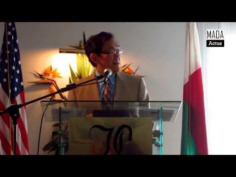 Robert Yamate speech at access program graduation