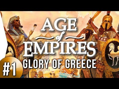 Age of Empires 1 HD ► Glory of Greece #1 - Land Grab!