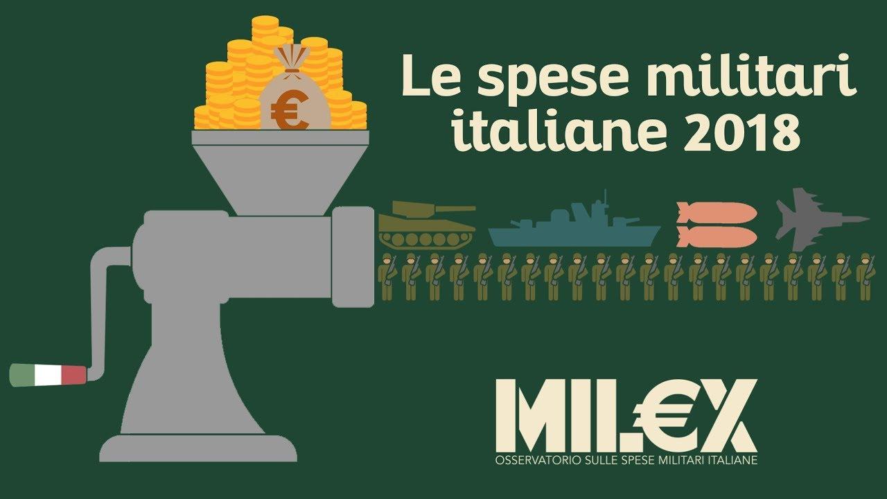 Le spese militari italiane in tre minuti