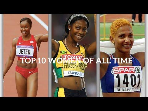 Top 10 Fastest 100m Runners | Women