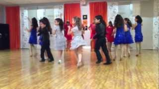 Salsa Karibe Kids performance December 8, 2012 for Christmas Social