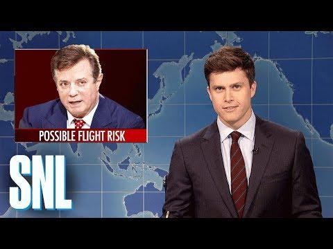 Weekend Update on Paul Manafort's Indictment - SNL