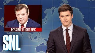 Weekend Update on Paul Manafort's Indictment - SNL