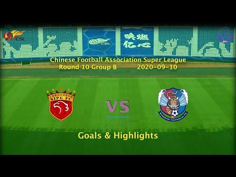 Shanghai SIPG Qingdao Huanghai Goals And Highlights