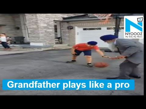 grandpa bets on grandson