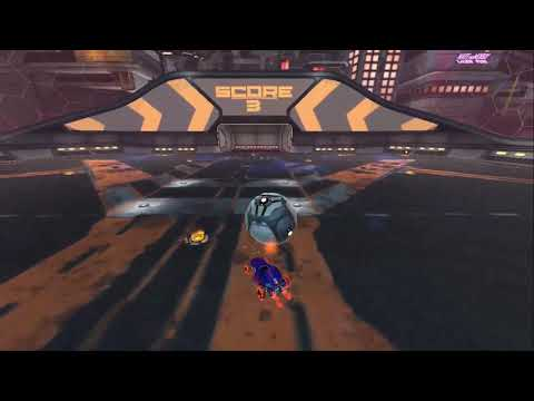 Нарезка моих голов в Rocket League #1