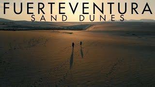 Fuerteventura - Sand Dunes (DJI Drone 4K)