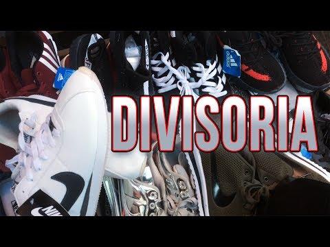DiViSORiA MARKET $6 DOLLAR YEEZYS, NIKE, ADIDAS | Chinatown | Manila Philippines