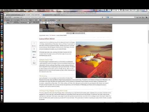 Great Website Design Case Study -  MoroccoRetreats.com