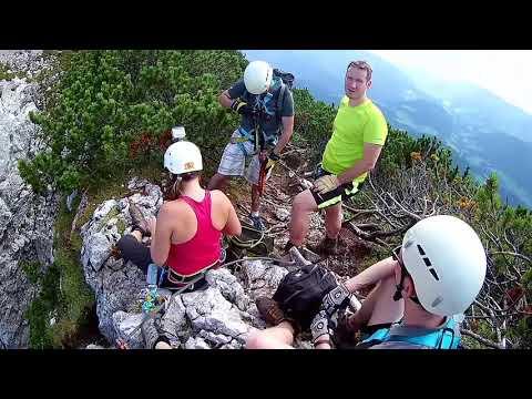 Klettersteig Uk : Entlang des wasserfalls klettersteig kandersteg u super gsi