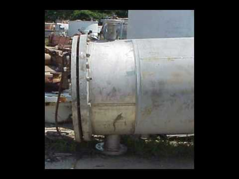 1370 Sq.ft. Shell and Tube heat exchanger  #EX-310