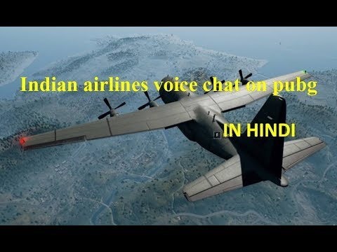 Indian Airlines Funny Voice Chat On Pubg Hindi