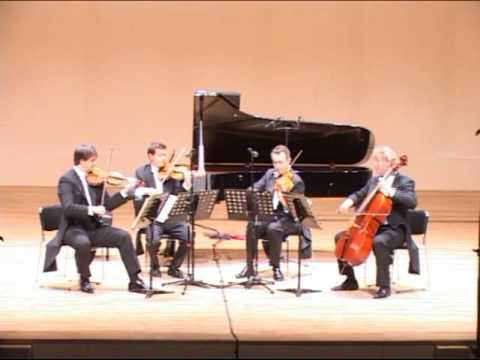 Mozart String Quartet KV 387, 1st. mvt. Allegro vivace assai