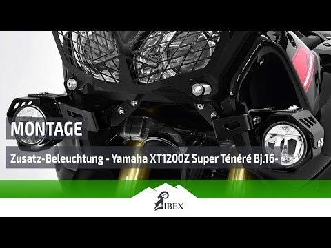 Schwarz f/ür Yamaha XT1200Z Super T/én/ér/é 14- SW-MOTECH Scheinwerfer-Halter