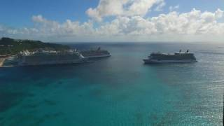 Celebrity Cruises Eclipse, Equinox and Silhouette in St. Maarten | Slideworks Photography