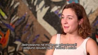 Julija Steponaityte i Aiste Diržuite - glumice u filmu Ljeto za Sangaile