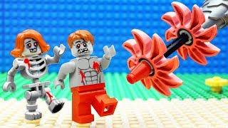 Lego Zombie Drilling Machine Skeleton Fail