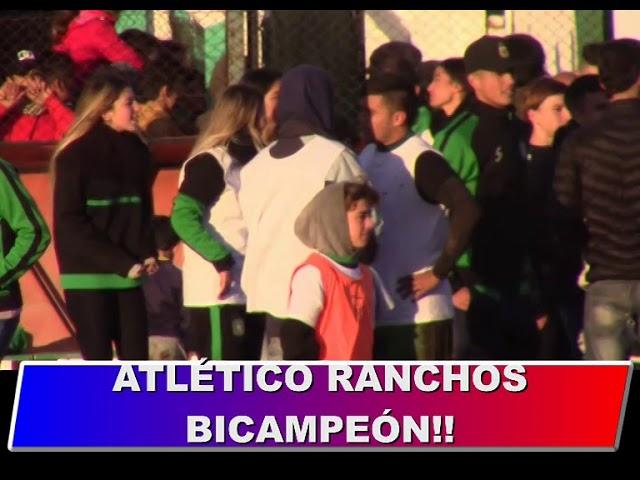 Atletico Ranchos Vs Lefu Festejos y Notas