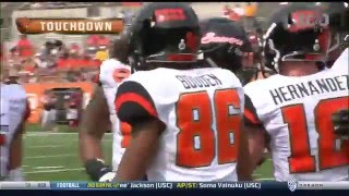 Oregon State Football Spring Game Highlights