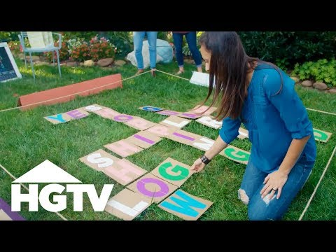 Easy Does It: DIY Scrabble-Inspired Lawn Game   HGTV