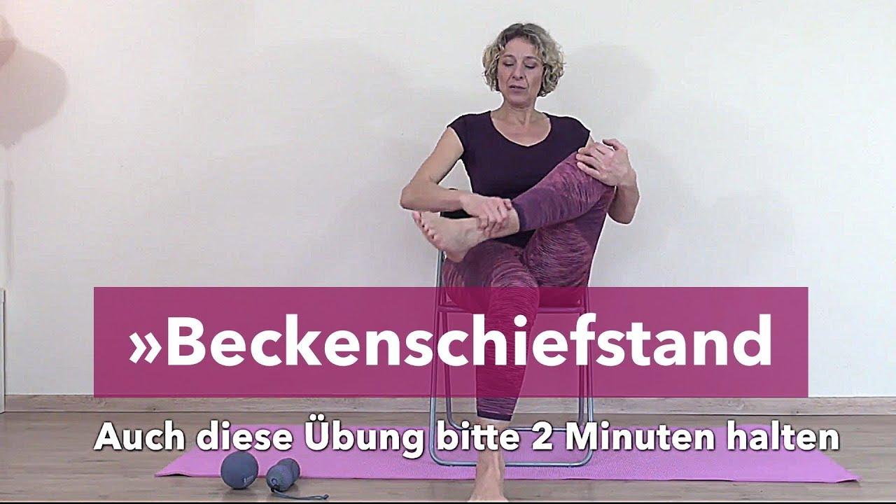 Beckenschiefstand übungen