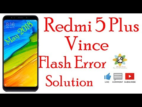 how-to-flash-redmi-5-plus-fastboot-mode-vince