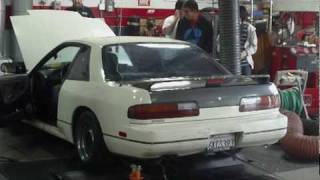 Sensation!'s SR20-powered 240SX On the Dyno