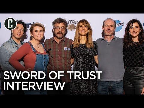 Lynn Shelton And Marc Maron On Sword Of Trust And Glow Season 2