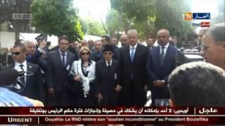 الوزير الأول عبد المالك سلال في زيارة عمل وتفقد بقسنطينة
