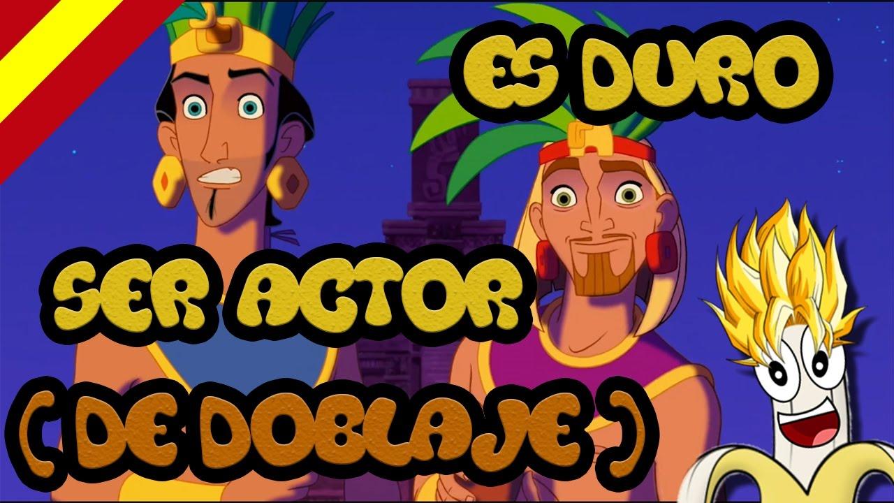 Download Es duro ser actor (de doblaje) - Parodia El Dorado