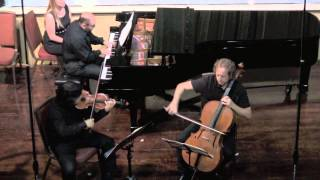 Maurice Ravel Trio (1914) performed by TrioInk