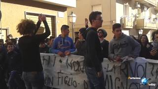 Corteo studentesco - Partanna (TP)