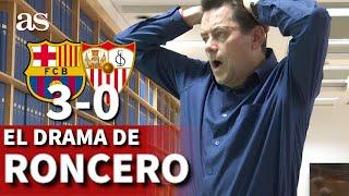 Barcelona 3 - Sevilla 0 | Las reacciones de Roncero: el gol de Piqué, las polémicas... | Diario AS