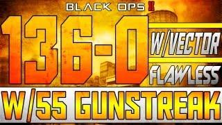 BO2:136-0 FLAWLESS+55 Gunstreak w/Vector :: Is BO2 Gameplays Impressive?