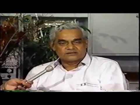 Atal Bihari Vajpayee Interview 1991 on Indian Politics