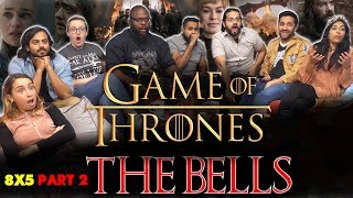 Game of Thrones - 8x5 The Bells [Part 2] - Group Reaction